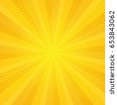 comics rays background with...   Shutterstock . vector #653843062