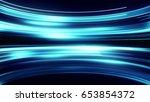 glowing light horizontal... | Shutterstock . vector #653854372