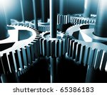 industrial close up image of ... | Shutterstock . vector #65386183