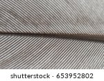 gray feather macro photo.... | Shutterstock . vector #653952802