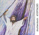 Jesus Calms The Storm  Origina...