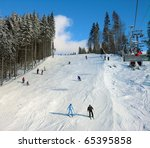 Ski Track Of Bukovel Resort ...