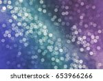 colorful circles of light... | Shutterstock . vector #653966266