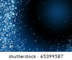 xmas background with snowflakes | Shutterstock . vector #65399587