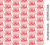 pattern background made in usa...   Shutterstock .eps vector #654041266