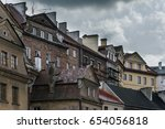 lublin city from poland | Shutterstock . vector #654056818