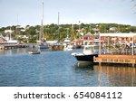 antigua  caribbean islands ...   Shutterstock . vector #654084112