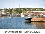 antigua  caribbean islands ...   Shutterstock . vector #654103228