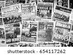 london  england   june 03  2017 ...   Shutterstock . vector #654117262
