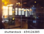 abstract background bokeh in... | Shutterstock . vector #654126385