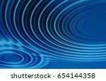 colorful ripple background | Shutterstock . vector #654144358