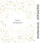 vector stars background for... | Shutterstock .eps vector #654162502