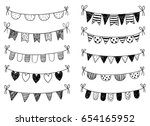 Vector Set With Hand Drawn...