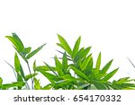 bamboo leaves | Shutterstock . vector #654170332