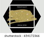 elegant luxurious premium...   Shutterstock .eps vector #654172366