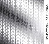 abstract metallic geometric... | Shutterstock .eps vector #654187066