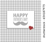 happy father's day vector | Shutterstock .eps vector #654187975