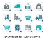 stylized storage ...   Shutterstock .eps vector #654195946