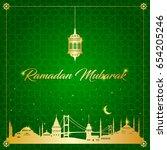 ramadan   Shutterstock .eps vector #654205246