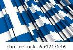 fragment flag of greece. 3d...   Shutterstock . vector #654217546