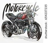 Motorcycle Sketch  Motorcycle...