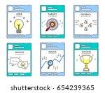 illustration vector post screen ... | Shutterstock .eps vector #654239365