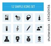 set of 12 editable teach icons. ...