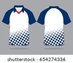 racing sport polo shirt design | Shutterstock .eps vector #654274336