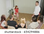 Small photo of Group therapy session