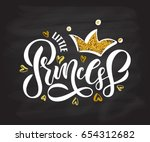 vector illustration of little... | Shutterstock .eps vector #654312682