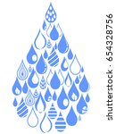 drops group set | Shutterstock .eps vector #654328756