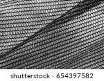 black and white grid ... | Shutterstock . vector #654397582