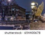 15 11 2016.russia.saint  ... | Shutterstock . vector #654400678