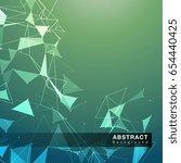 structure of molecular... | Shutterstock .eps vector #654440425