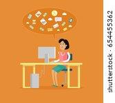 busines people character   Shutterstock . vector #654455362