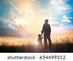 encourages and future concept ... | Shutterstock . vector #654499312