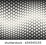geometric halftone gradient... | Shutterstock .eps vector #654545155