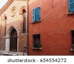 Ferrara  Italy. Alley Of The...