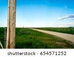 Power Pole Near Idaho Roadway