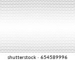 abstract halftone dotted... | Shutterstock .eps vector #654589996