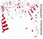 celebration background template ... | Shutterstock .eps vector #654598216