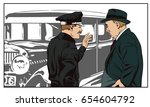 stock illustration. people in... | Shutterstock .eps vector #654604792