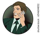 stock illustration. people in... | Shutterstock .eps vector #654604852