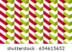 vector seamless pattern with... | Shutterstock .eps vector #654615652