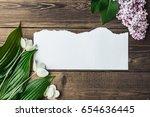 wooden background of brown...   Shutterstock . vector #654636445