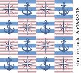 seamless striped background... | Shutterstock .eps vector #654638218