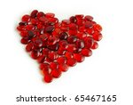photo of tens of little red... | Shutterstock . vector #65467165