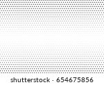 abstract halftone dotted... | Shutterstock .eps vector #654675856