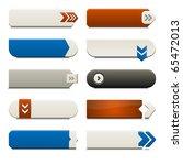 ten call to action buttons ... | Shutterstock .eps vector #65472013