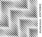 vector seamless pattern. modern ... | Shutterstock .eps vector #654740842